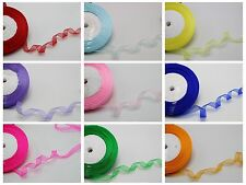 "50 Yards Sheer Organza Ribbon 1/2"" (12mm) Gift Bow Wedding Craft Pick Your Color"