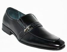 Delli Aldo Men Shoes Very Elegant,Black Color, with Buckle, Sizes7 to 12 US SIZE