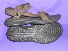 TEVA Womens Size 10.5 Pretty Rugged Leather 3 Sport Sandal Shoe BRIDGER New!!