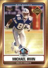 10x Lot 2007 Topps Hall of Fame #MI Michael Irvin Cowboys