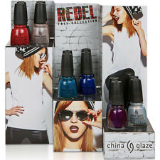 China Glaze Nail Polish Lacquer Rebel Collection 2016 Fall