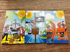 6, 12, 24, 48 Mini Pirate Notebooks Girls Party Note Pad Loot Bag Fillers UK