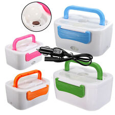12V 45W Car Plug Charger Heating Lunch Box Portable Electric Food Warmer Compact