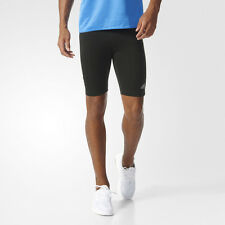 Adidas Response Mens Black Climalite Short Running Tights Bottoms Pants