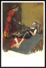 PAULA REGO portuguese paintor RED RIDING HOOD Serie. Postcard MUSEUM EDITION