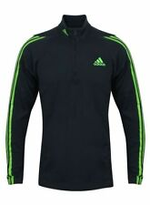 Mens Adidas Jacket 1/2 Zip Up Casual Top Sports Running Gym Tracksuit Top