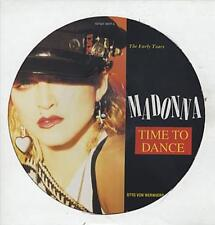 "Madonna Time To Dance 12"" vinyl picture disc record UK REPLAY3007P RECEIVER"