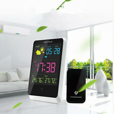 YGH-391 Wireless Color Weather Forecast Clock Alarm Temperature Humidity Display
