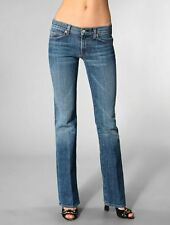 SEVEN 7 FOR ALL MANKIND ☮ Low Rise 'BOOTCUT' Stretch Jeans in MILAN Wash ~ 29