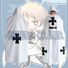 Anime Axis powers Hetalia Prussia Gilbert Beilschmidt Cosplay Costume outfit