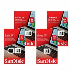 Sandisk 8/16/32/64GB GB Cruzer Fit CZ33 USB 2.0 Flash Stick Pen Drive