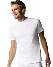 10 Hanes Men's TAGLESS ComfortSoft Crew Undershirts in White #114HNB5  4X or 5X
