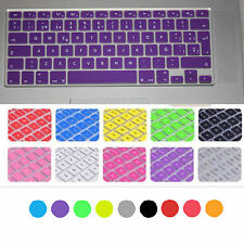 "Spanish SP Keyboard Skin Protector Cover Film Macbook Air Pro Retina 13"" 15"""
