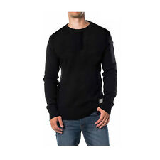 Mens Brave Soul 'Dynamic' Crew Neck Jumper Sweater Chunky Knitted S-XL