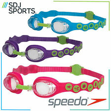 SPEEDO SEA SQUAD SPOT KIDS SWIMMING GOGGLES WITH ANTI-FOG FOR AGES 2-6 YEARS