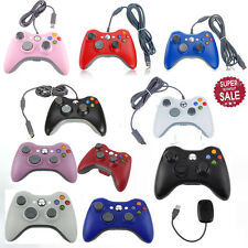 Wireless Wired USB Game Pad Controller For Microsoft Xbox 360 Console PC OH