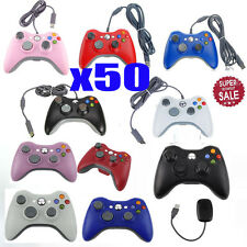 LOT 50 Wired Wireless Game pad Remote Controller for Microsoft Xbox 360 Console