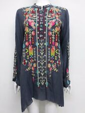 NWT Johnny Was Embroidered Jezabelle Flared Tunic -M - JW18081016