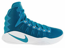 NEW MENS NIKE HYPERDUNK 2016 BASKETBALL SHOES TRAINERS TROPICAL TEAL / WHITE