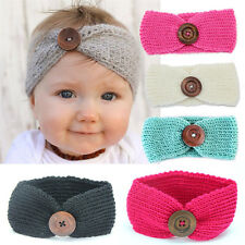 Baby Girl Knit Crochet Turban Headband Warm Headbands Hair Accessories for Baby