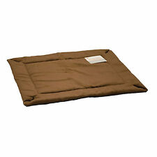 K and H Manufacturing KH Mfg Self-Warming Mocha Dog Crate Pad