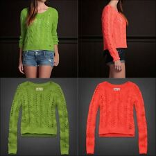 Women's Hollister Cropped Thick Sweater Size L