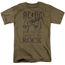 AC/DC For Those About To Rock T-Shirt S-3XL