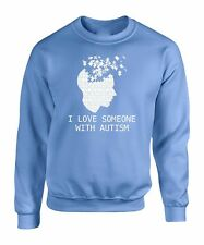 Sweatshirt Austism S Awareness T Sweater Family Love Puzzle Gift New Save Help V