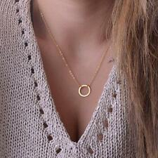 Pendant necklaces Fashion Clavicle Chains choker Karma Circle Statement Necklace