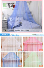 Mesh Canopy Princess Round Dome Bed Mosquito Netting Lace  Bedding Net New Sale