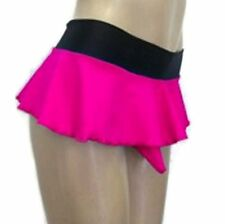 Crossdresser, Sissy Thong Panties With Skirt And Sheath Hot Pink