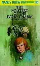 Nancy Drew: Mystery of the Ivory Charm 13 by Carolyn Keene (1936, Hardcover, Re…