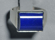Lapis Lazuli Handcrafted Sterling Silver Gemstone Ring