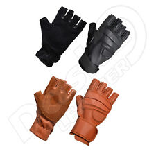 MENS REAL GENUINE ANILINE LEATHER CLASSIC POLICE FASHION GLOVES