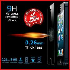 100% GENUINE TEMPERED GLASS FILM SCREEN PROTECTOR FOR ALL APPLE IPHONE MODELS