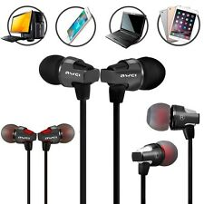Super Bass In-ear Earphone Headset Headphone With Mic Volume Control 1.2m Cable