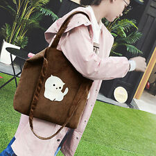 Women Casual Cloth Handbag Cute Cross Body Shoulder Bag Satchel Hobo Tote Bags