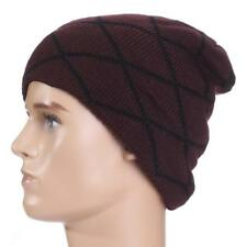 Beanie Hat Mens Ladies Slouch Winter Wooly Ski Knitted Unisex Skull Cap Warm