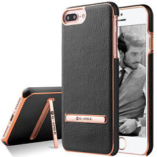 Shockproof Luxury Leather Ultra Thin Hard Stand Case Cover For iPhone 7 8 Plus