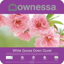 DOWNESSA WHITE GOOSE DOWN Doona |Quilt  Single |Double |Queen |King |Super King