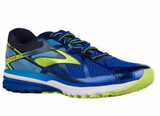 NEW MENS BROOKS RAVENNA 7 RUNNING SHOES TRAINERS SURF THE WEB / LIME PUNCH