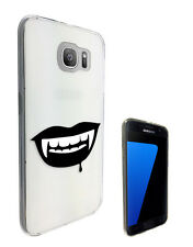 C1336 Vampire Blood Fangs Case Cover For Samsung Galaxy J3 J5 A3 A5 S6 S7 Edge