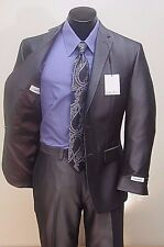 RETAIL $275.00 NOW $129.99 Calvin Klein Charcoal Grey Slim Fitting Suit