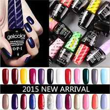 OPI Gel Color Gel Polish Soak off Popular Gelcolor Top & Base Coat NEW 15ml