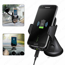 Real Fast Qi Wireless Charging Charger Car Mount Holder Stand for Samsung S8 Lot