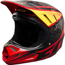 NEW Fox Racing V4 Chad Reed Replica Red Yellow Carbon Motocross Helmet