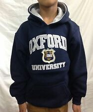 Oxford University Applique Officially Licenced Pull Over Hoodie Kids Unisex