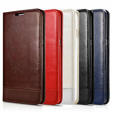 For Samsung Galaxy S6 Edge Plus Leather Wallet Card Holder Slot Stand Case Cover