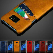 PU Leather Pouch Card Pocket Case Cover Skin for Samsung Galaxy Note5/S6 S7 Edge