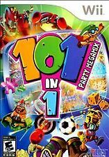 101-in-1 Party Megamix. Nintendo Wii/Wii U. With Case. Rare. ATLUS. Free Ship